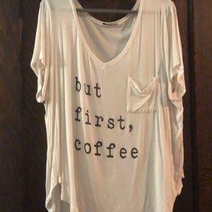 But first, Coffee shirt